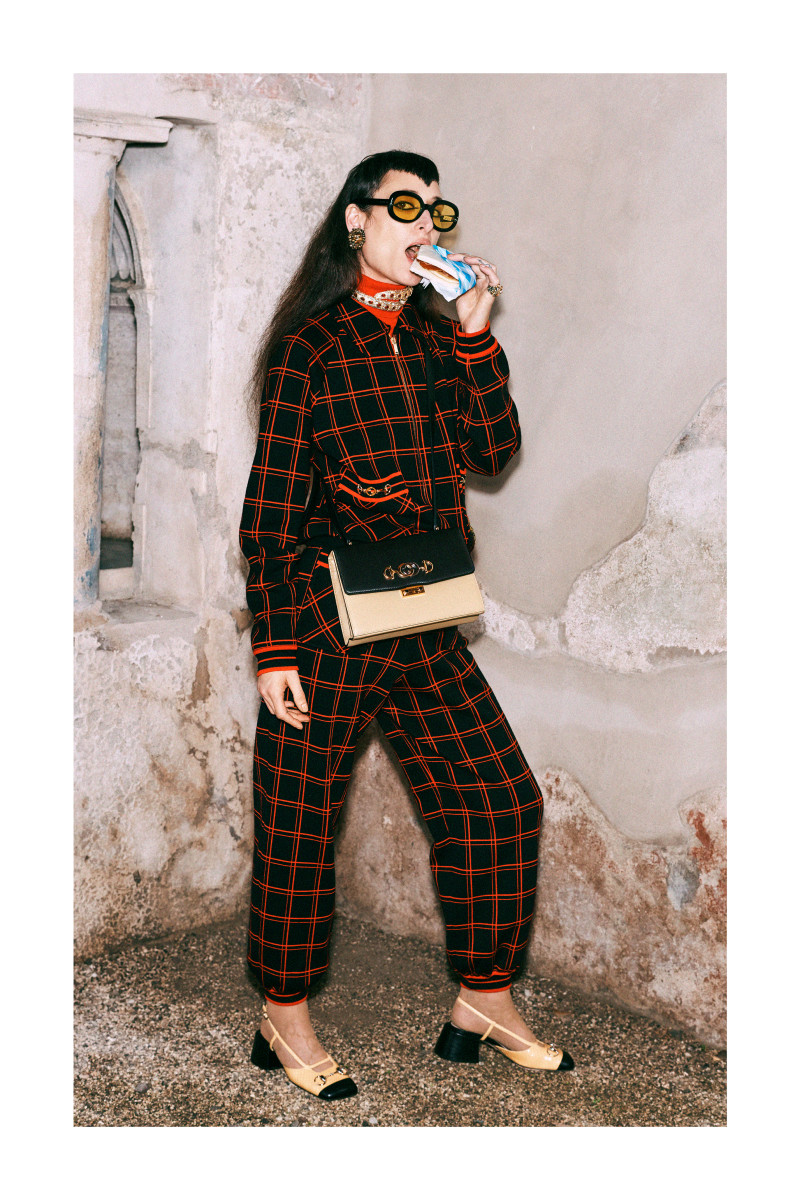 A look from Gucci's Pre-Fall 2019 collection. Photo: Harmony Korine/Gucci