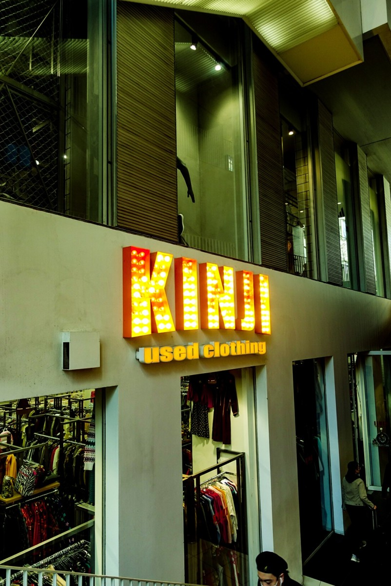 Kinji Used Clothing.Photo: Gyasi Williams Kirtley