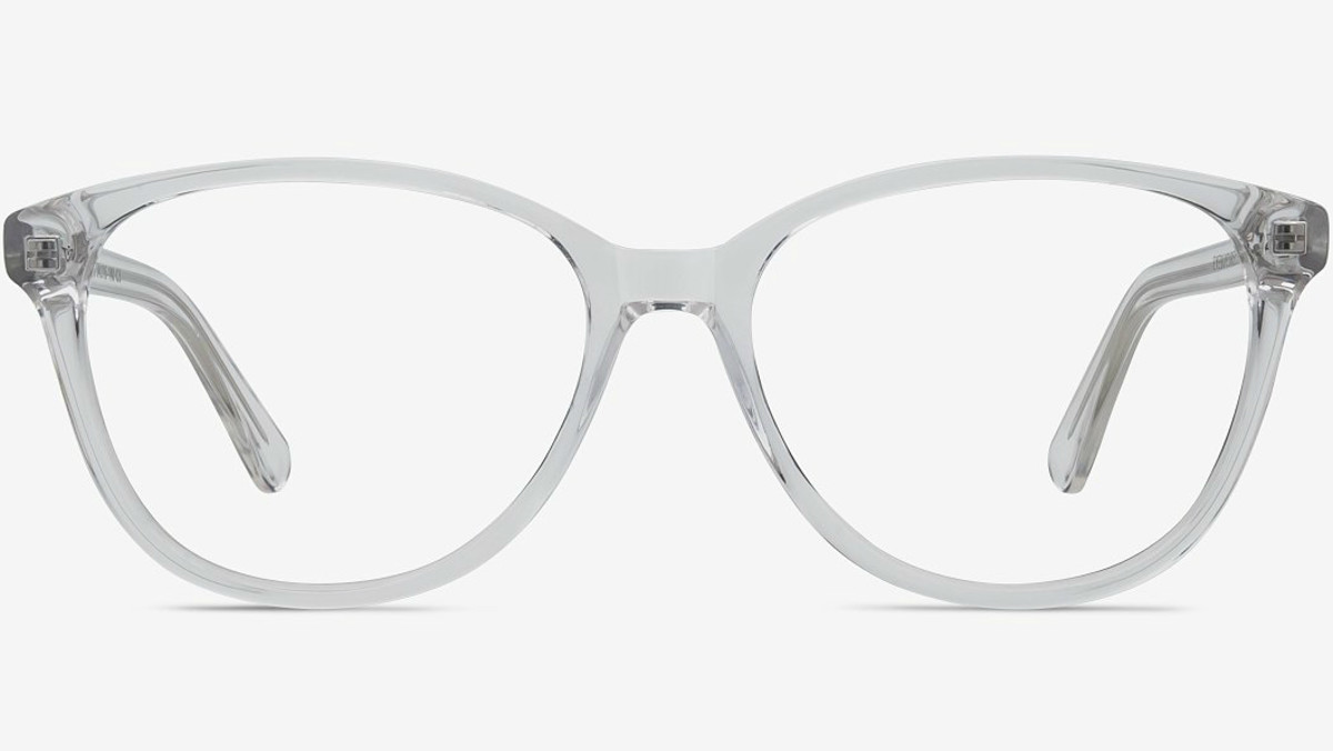 Hepburn Clear/White with SightRelax Eyeglasses, $68.95, available here.