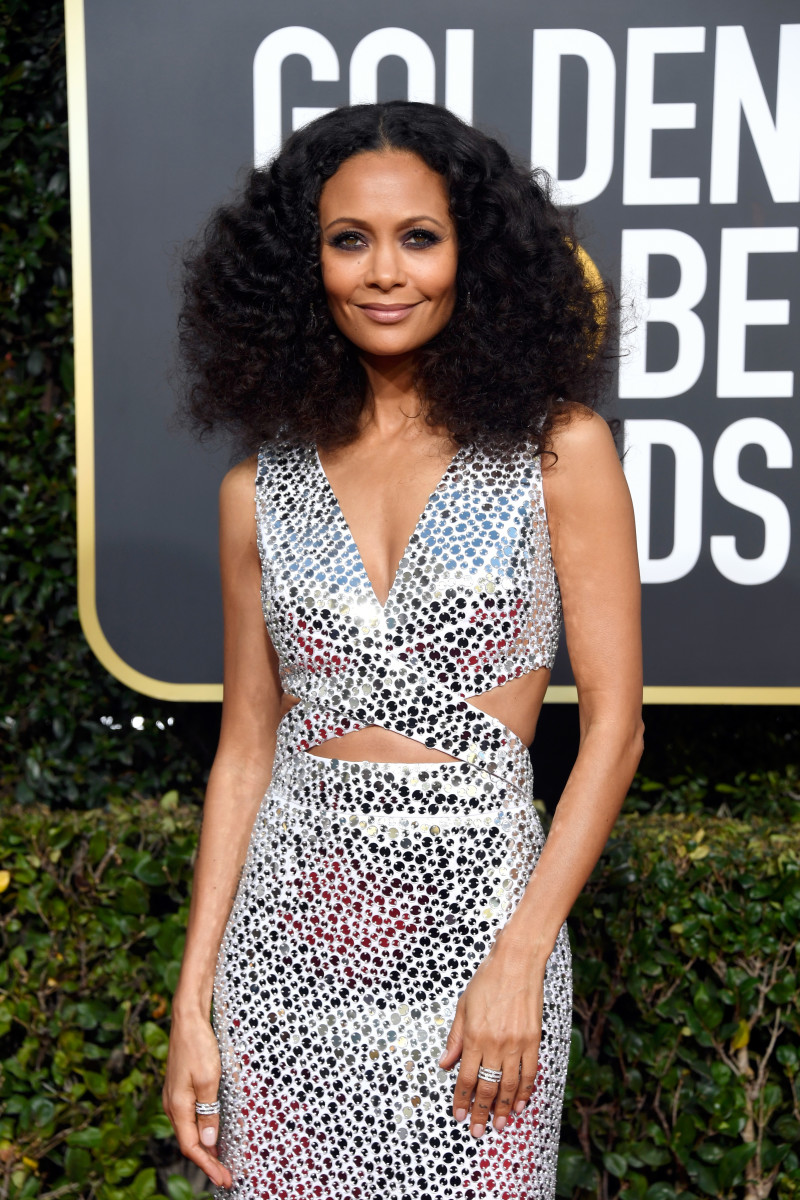 Thandie Newton at the 76th Annual Golden Globe Awards. Photo: Frazer Harrison/Getty Images