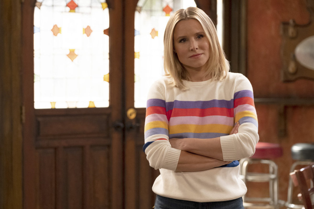 Eleanor Shellstrop (Kristen Bell). Photo: Colleen Hayes/NBC