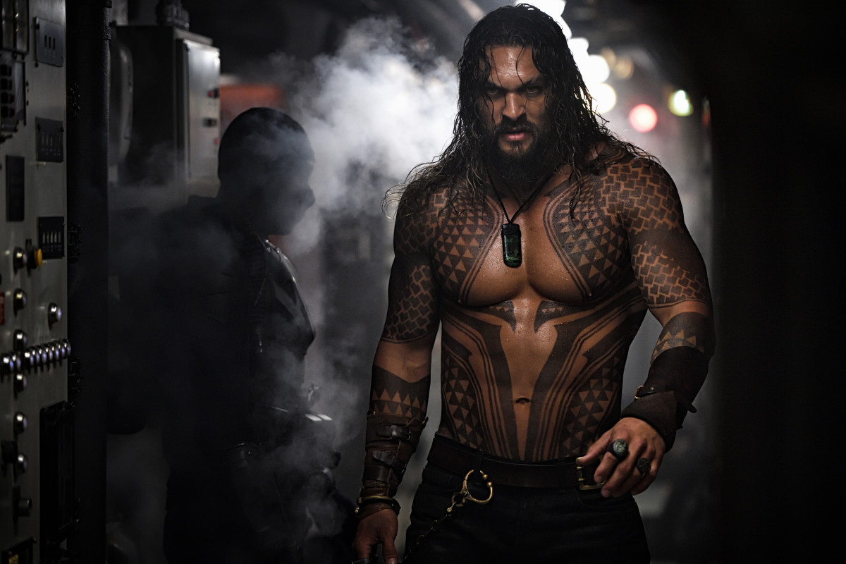 Aquaman (Jason Momoa). Photo: Jasin Boland/DC Comics & Warner Bros. Entertainment