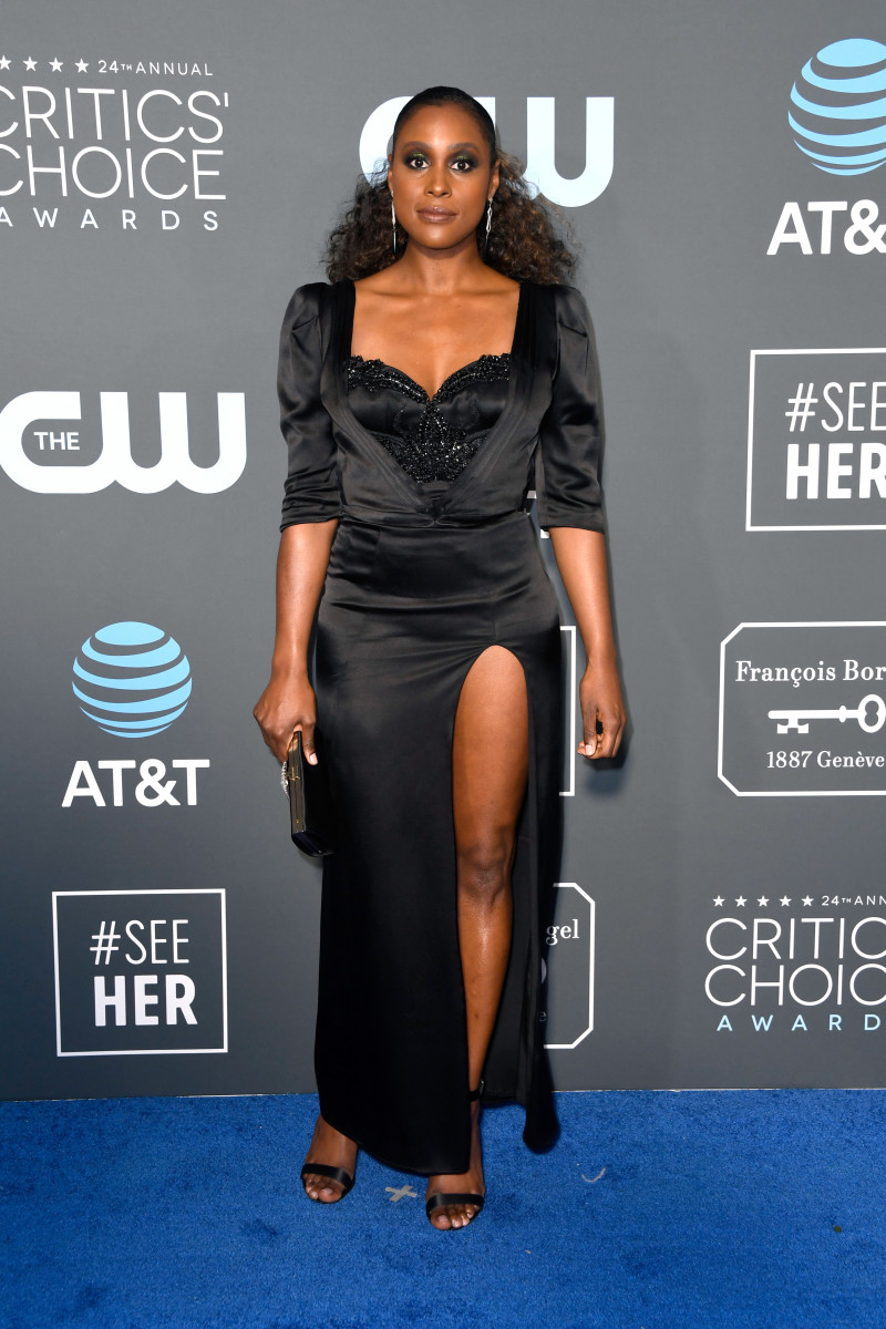 Issa Rae in Aliétte at the 2019 Critics' Choice Awards. Photo: Frazer Harrison/Getty Images