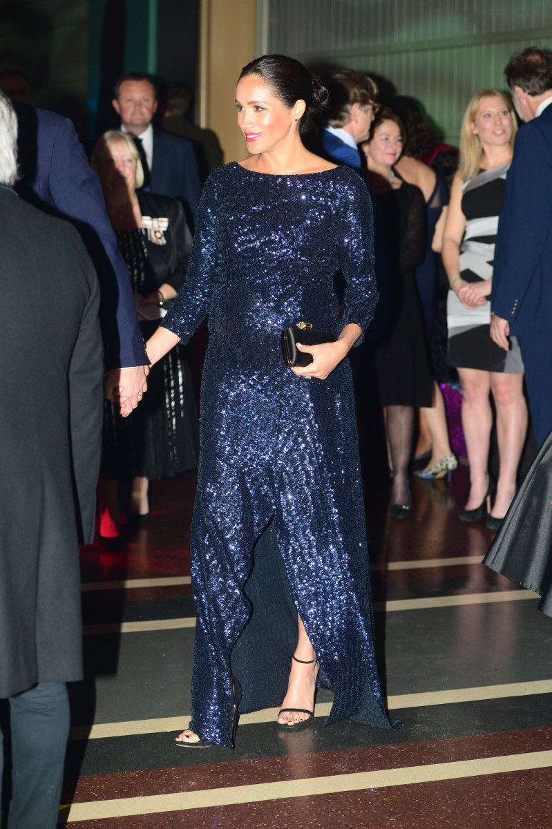 """The Duchess of Sussex attends the Cirque du Soleil Premiere of """"Totem"""" at Royal Albert Hall in London. Photo: Paul Grover - WPA Pool/Getty Images"""