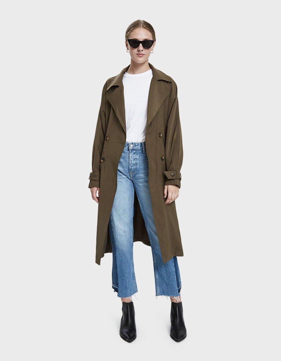 Farrow Krisha Woven Jacket in Moss, $94.99 (from $136), available here.