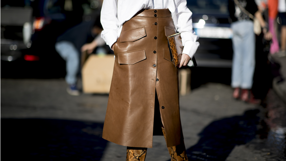 21 Leather Skirts That Will Cure Your Cold-Weather-Induced Wardrobe Slump