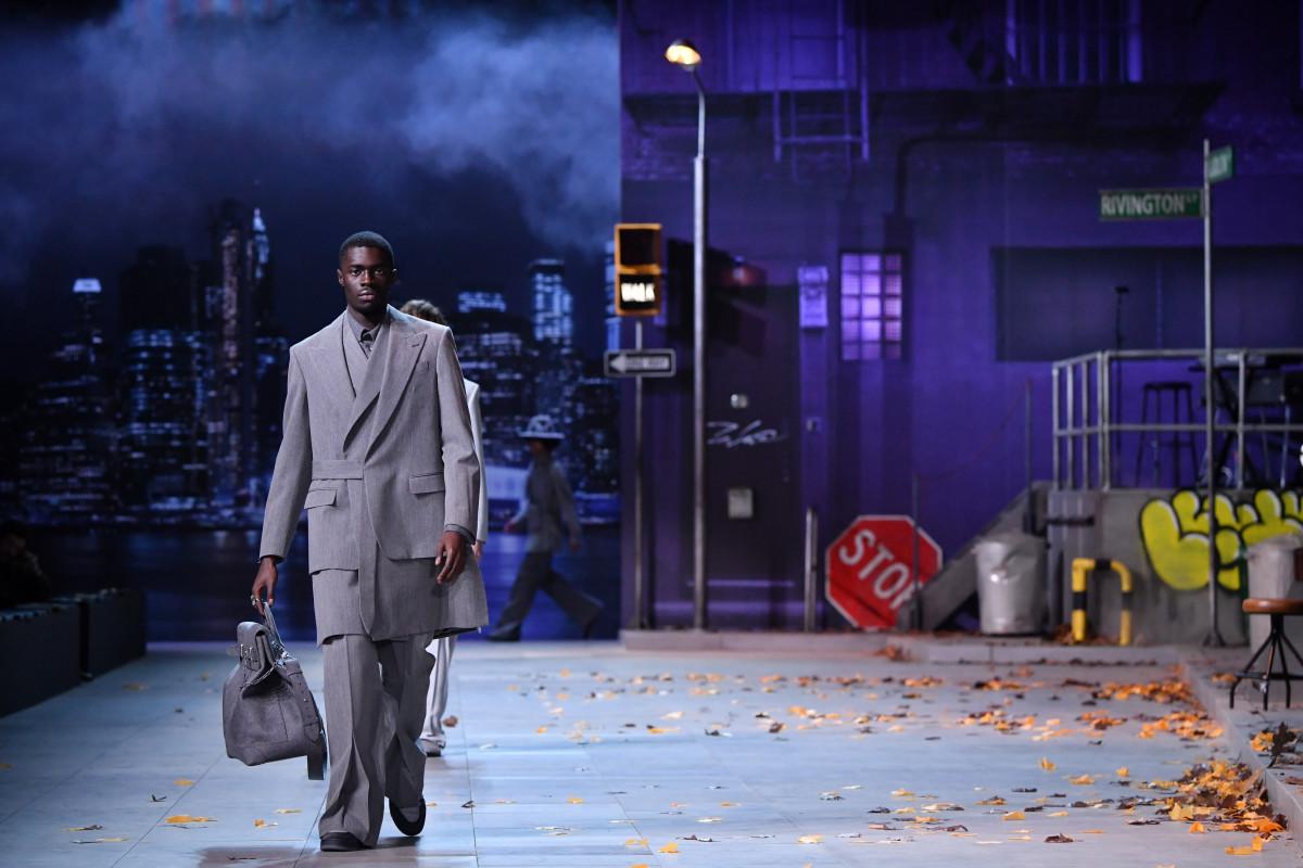 The Louis Vuitton Men's Fall 2019 show during Paris Fashion Week. Photo: Pascal Le Segretain/Getty Images