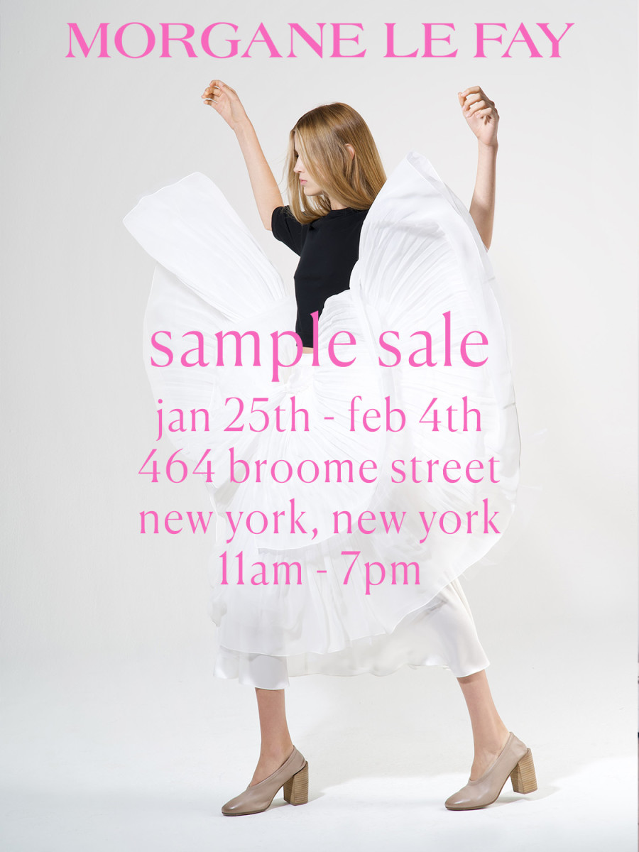MLF Sample Sale 2019