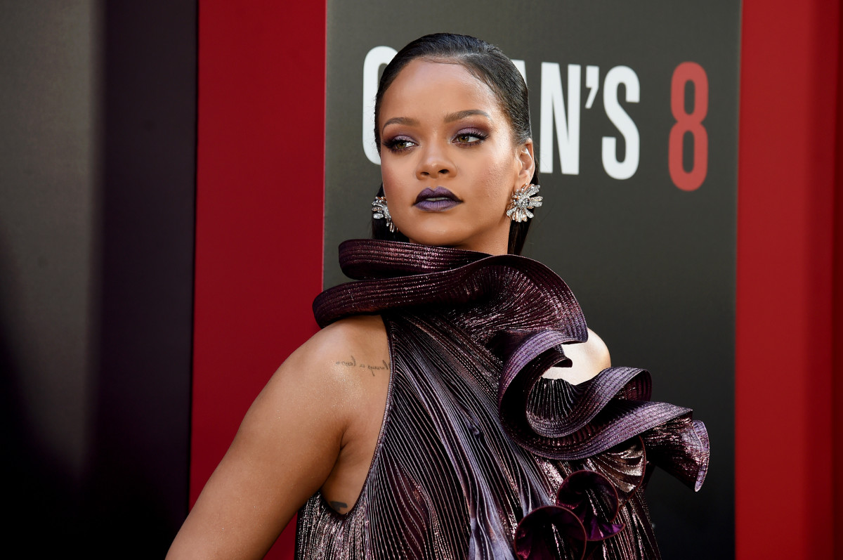 """Rihanna at the New York City premiere of """"Ocean's 8."""" Photo: Jamie McCarthy/Getty Images"""