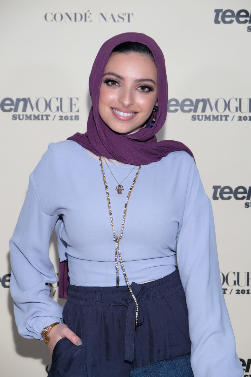 Noor Tagouri at the Teen Vogue Summit in December 2018. Photo: Sarah Morris/Getty Images