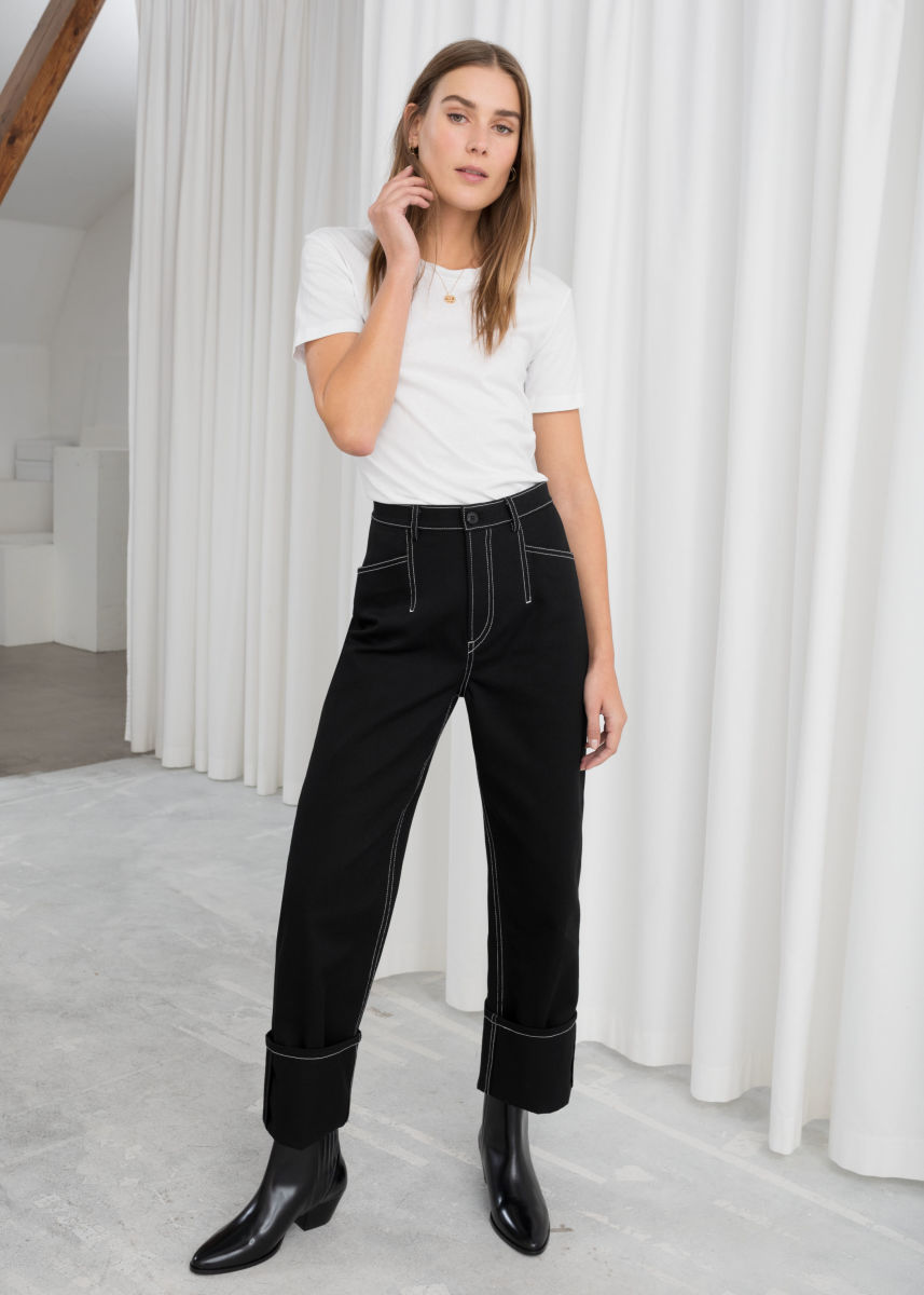 & Other Stories Cotton Twill Workwear Pants, $79, available here. Photo: Courtesy of & Other Stories.