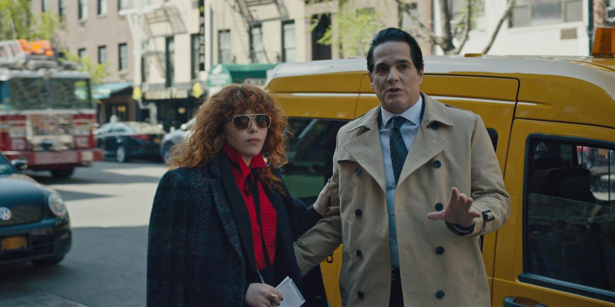 Nadia and John (Yul Vasquez). Photo: Courtesy of Netflix