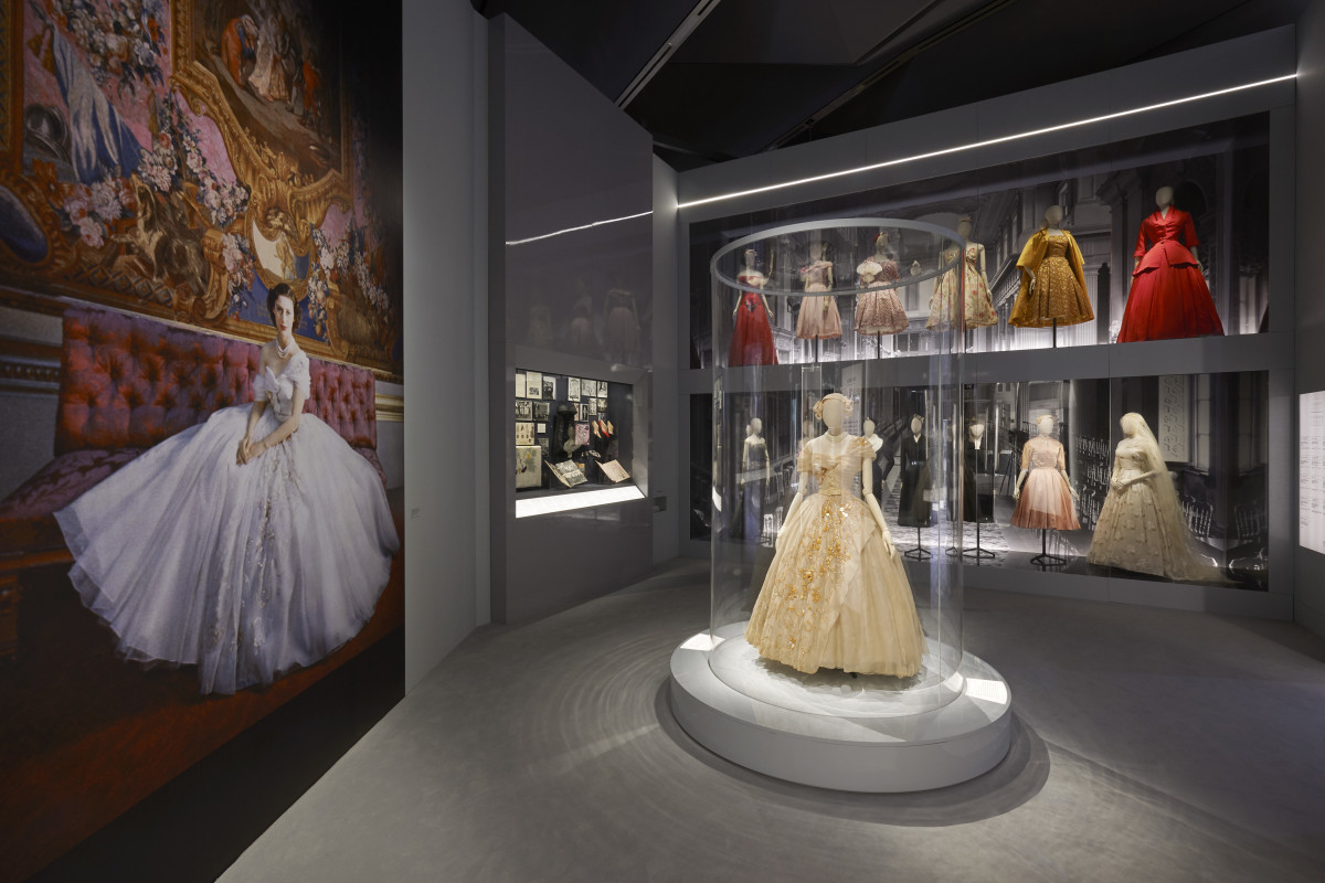 "Inside ""Christian Dior: Designer of Dreams."" Photo: Adrien Dirand/Courtesy of Christian Dior"