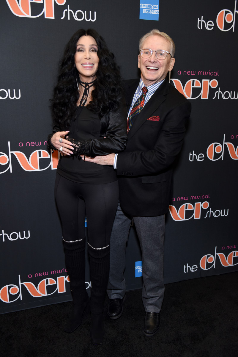 Cher and Bob Mackie at 'The Cher Show' Broadway Opening Night at Neil Simon Theatre on December 03, 2018. Photo: Jenny Anderson/Getty Images for The Cher Show