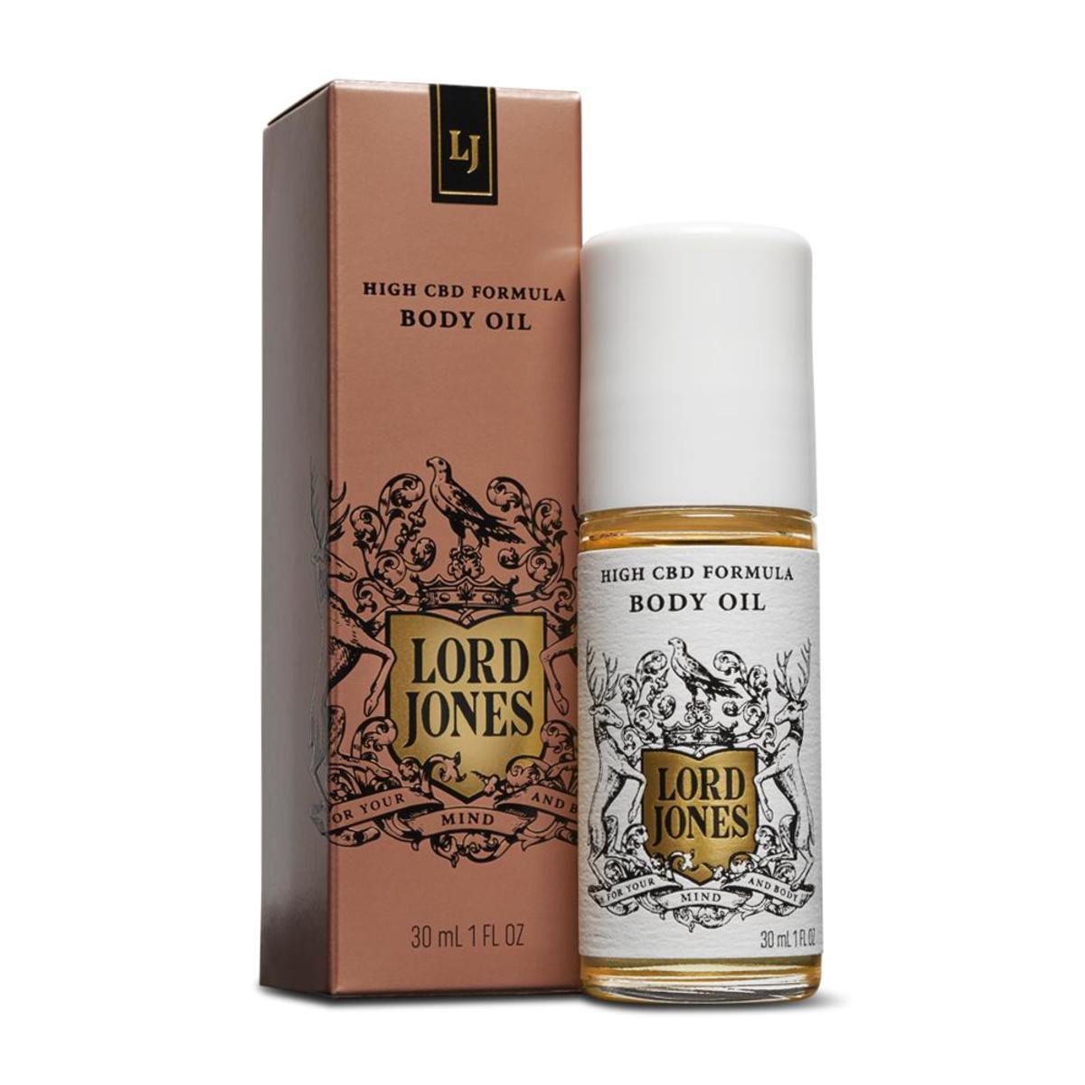Lord Jones High CBD Formula Body Oil, $ 75, hier beschikbaar. Foto: Hoffelijkheid van Lord Jones