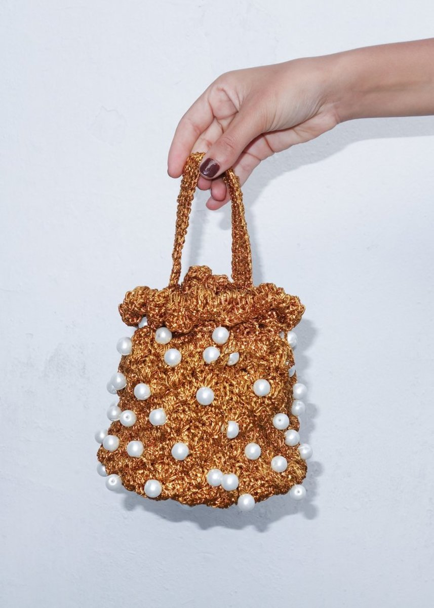 Suryo Bucket of Pearls, $132, available here.