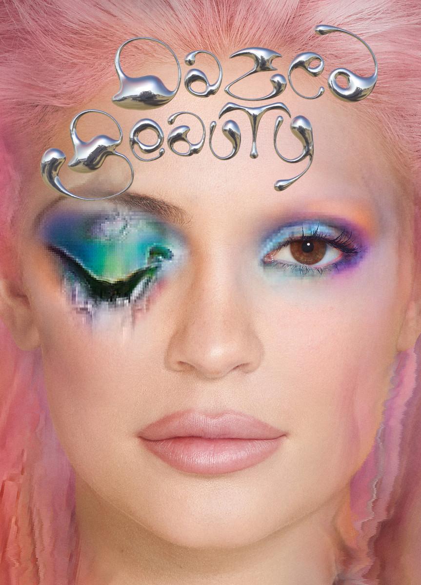 Kylie Jenner for Dazed Beauty. Photo: Daniel Sannwald/Dazed Beauty