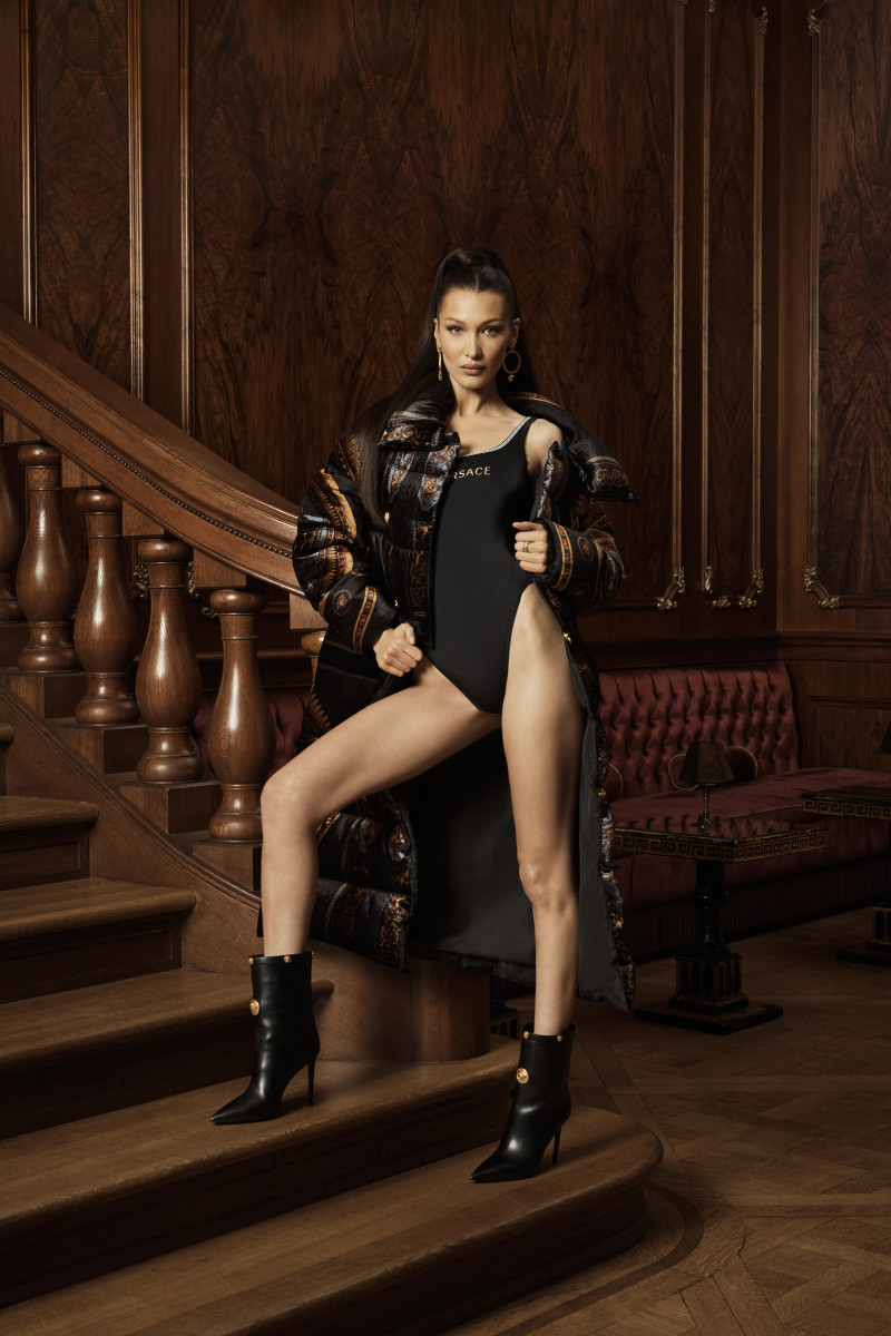 37c7188c24 Bella Hadid Stars in the Kith x Versace Collaboration Campaign ...