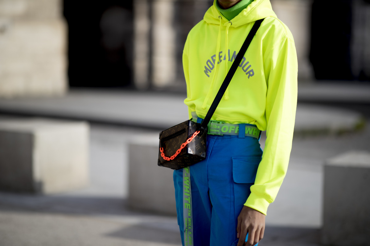 Virgil Abloh for Louis Vuitton Men's. Photo: Imaxtree
