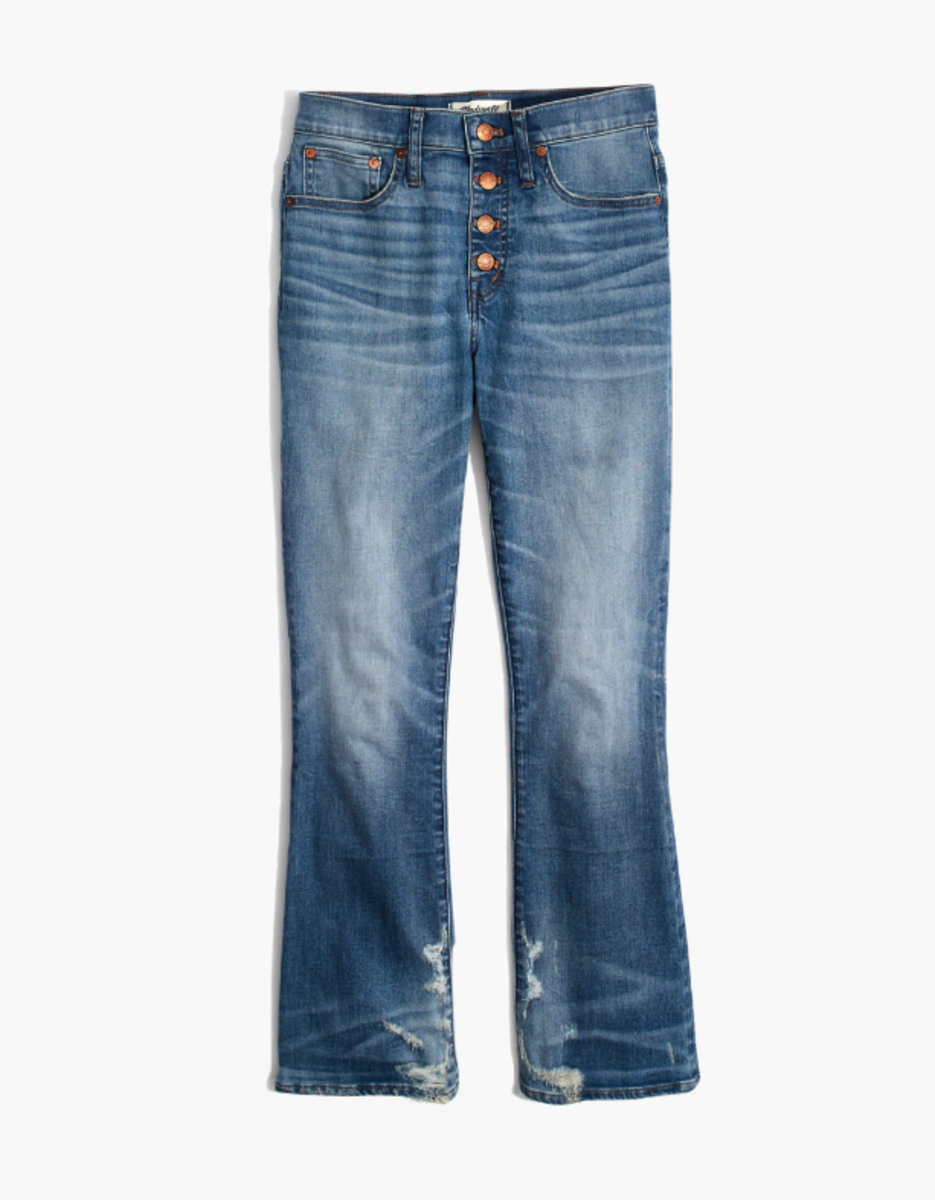 Madewell Cali Demi-Boot Jean, $135, available here.