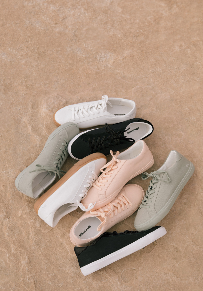 Madewell'sSidewalk sneakers collection. Photo: Courtesy of Madewell