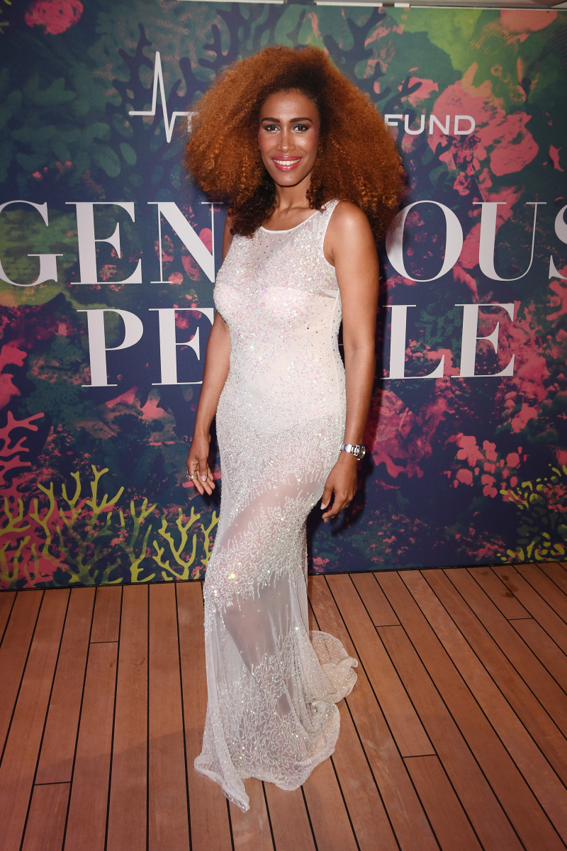 Moana Luu at the Generous People 5th Anniversary Party during the 70th annual Cannes Film Festival. Photo: Matthias Nareyek/Getty Images