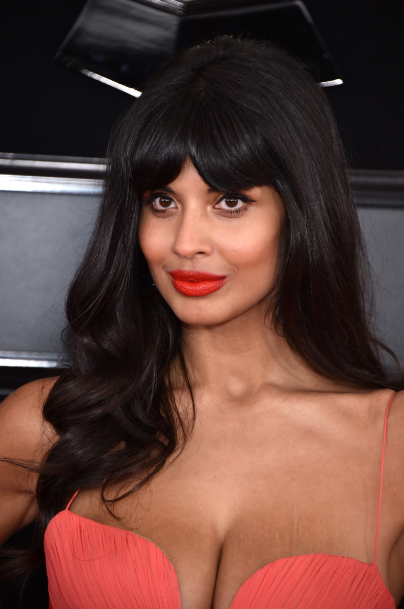 Jameela Jamil at the 61st Annual Grammy Awards. Photo: John Shearer/Getty Images for The Recording Academy
