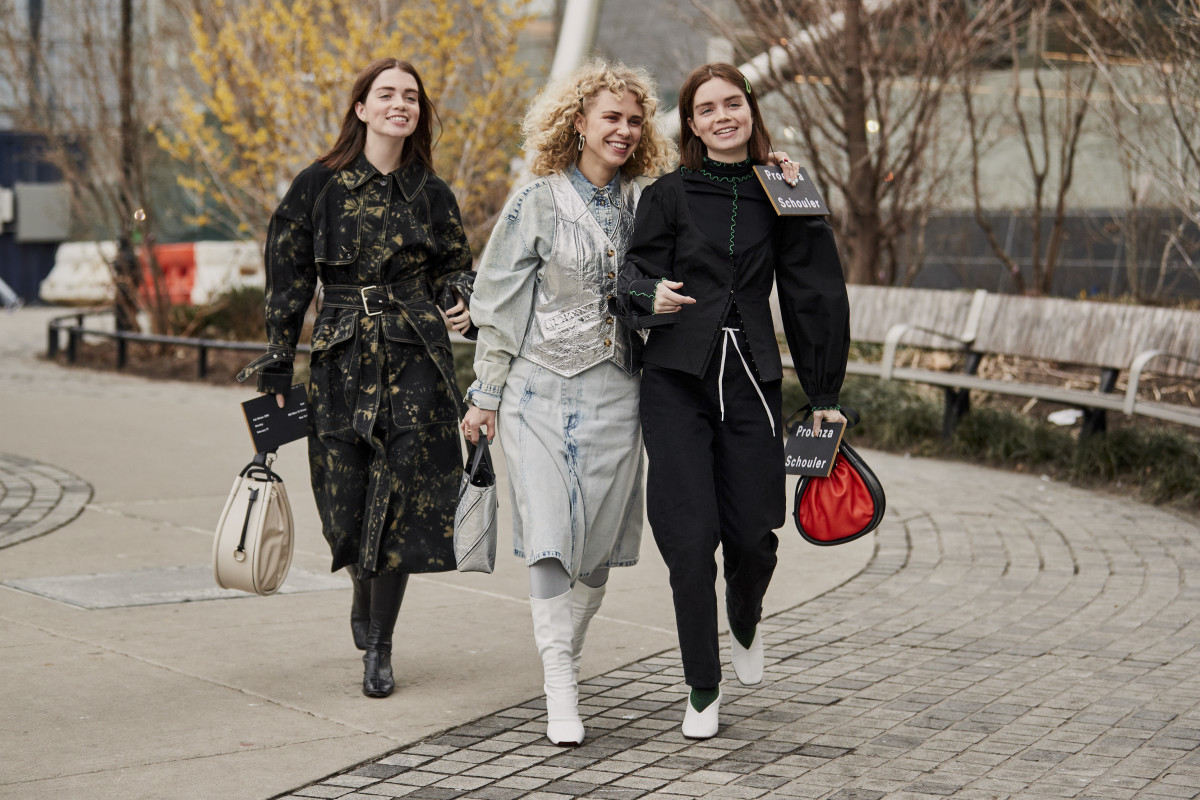 3e9b9d3b0f The Best Street Style Looks From New York Fashion Week Fall 2019 ...