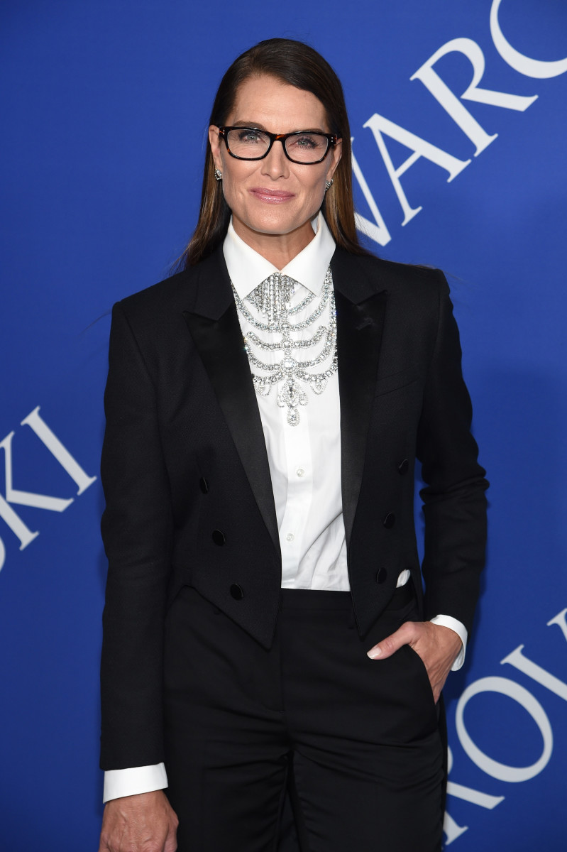At the 2018 CFDA Awards. Photo: Dimitrios Kambouris/Getty Images