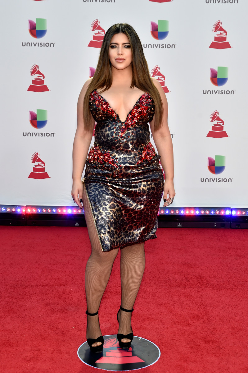 Bidot walks the red carpet of the 19th annual Latin Grammy Awards on Nov. 15, 2018. Photo: David Becker/Getty Images for LARAS