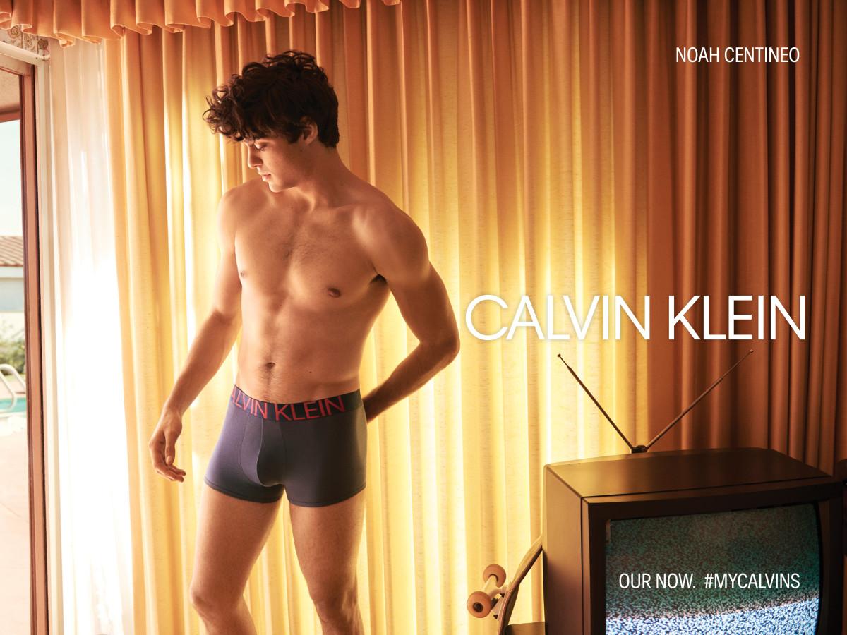 Noah Centineo for Calvin Klein. Photo: Glen Luchford/Courtesy of Calvin Klein