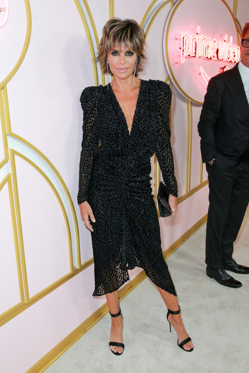 Lisa Rinna at the Amazon Prime Video post Emmy Awards party. Photo: Rich Fury/Getty Images