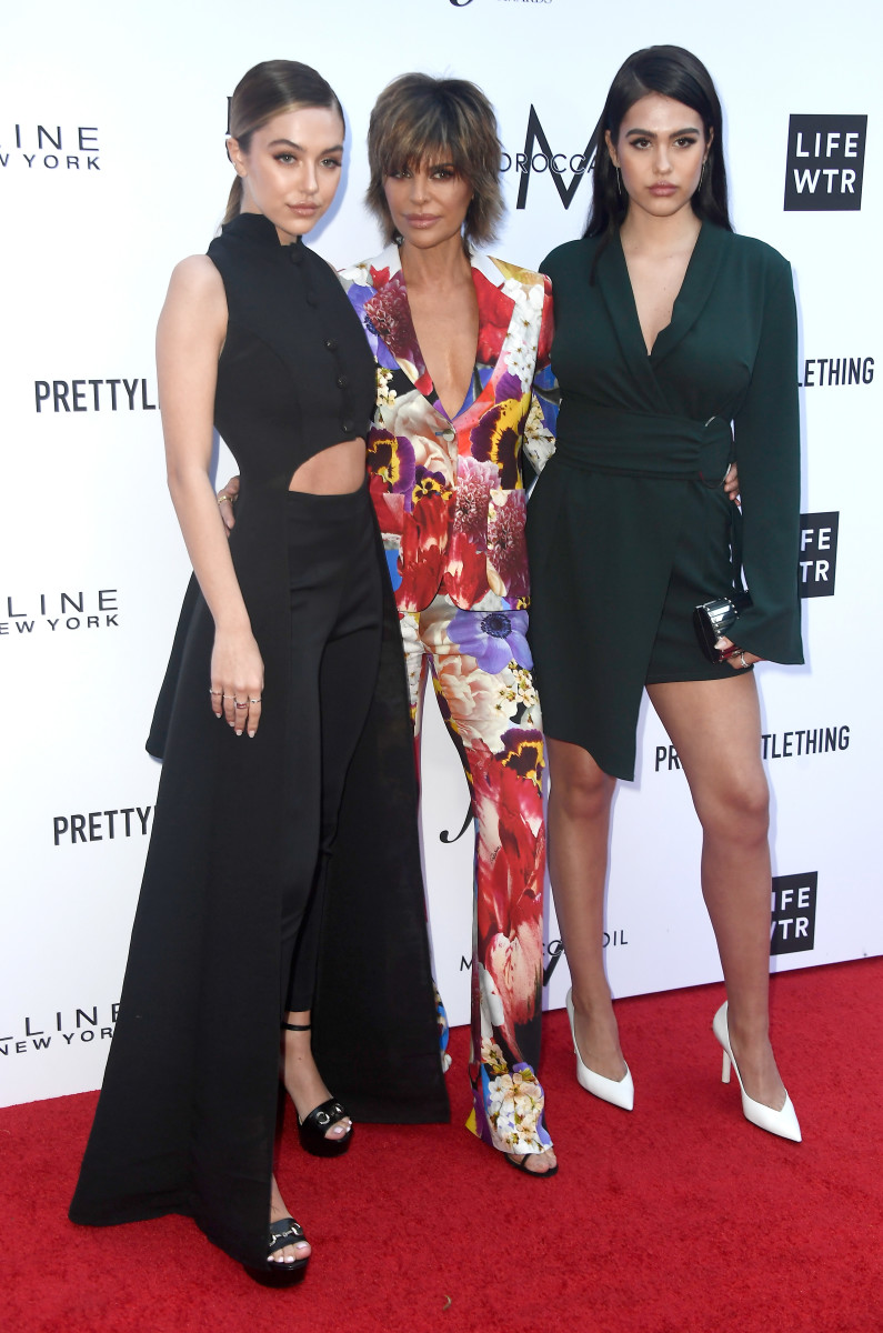 Delilah Belle Hamlin, Rinna, and Amelia Gray Hamlin at The Daily Front Row's 4th Annual Fashion Los Angeles Awards. Photo by Frazer Harrison/Getty Images
