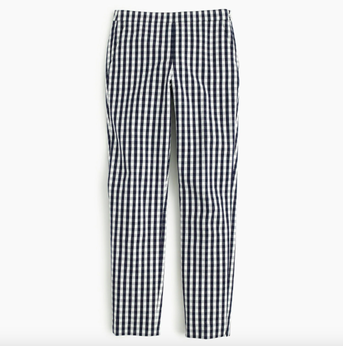 J.Crew Martie Pant in Gingham, $89.50, available here.