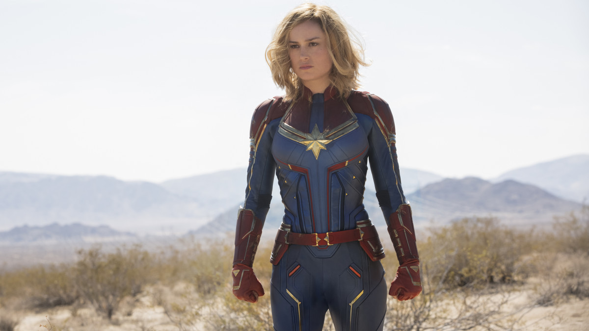 The Complete Breakdown Of Brie Larson S Costumes In Captain Marvel Fashionista Oh and i found an old lady to punch. captain marvel