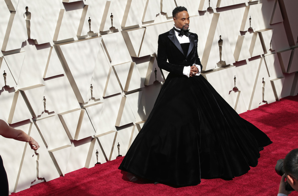 Billy Porter in Christian Siriano at the 91st Annual Academy Awards. Photo: Neilson Barnard/Getty Images