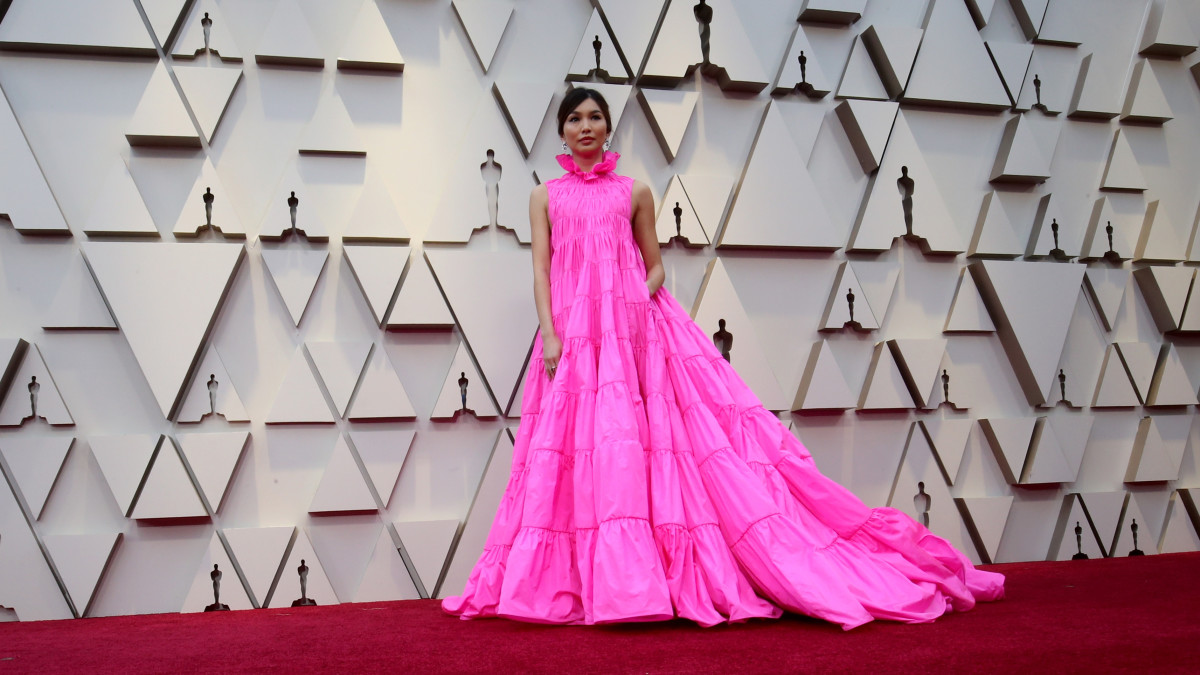 Gemma Chan in Valentino at the 91st Annual Academy Awards. Photo: Frazer Harrison/Getty Images