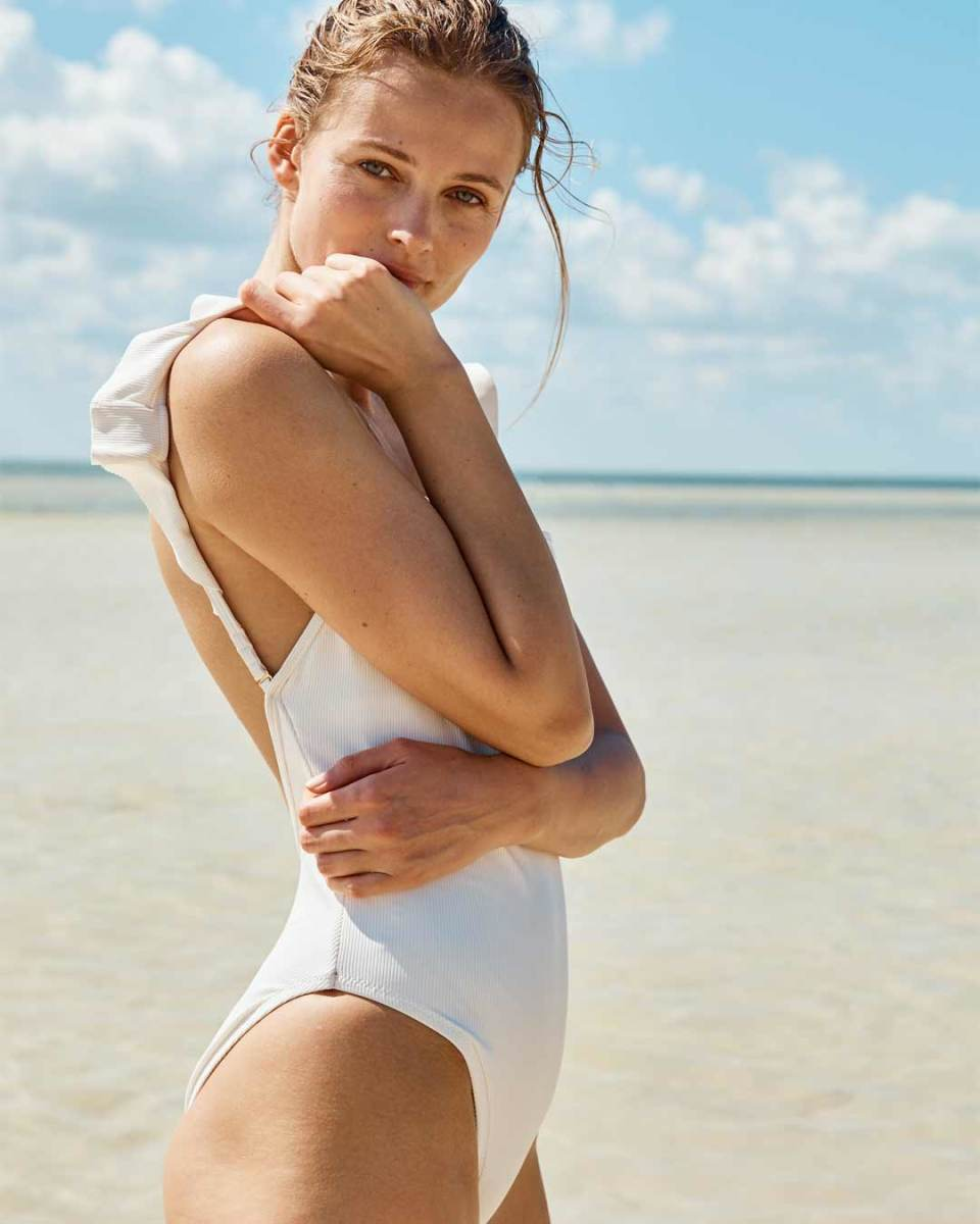 Madewell's new sustainable swim collection. Photo: Courtesy of Madewell