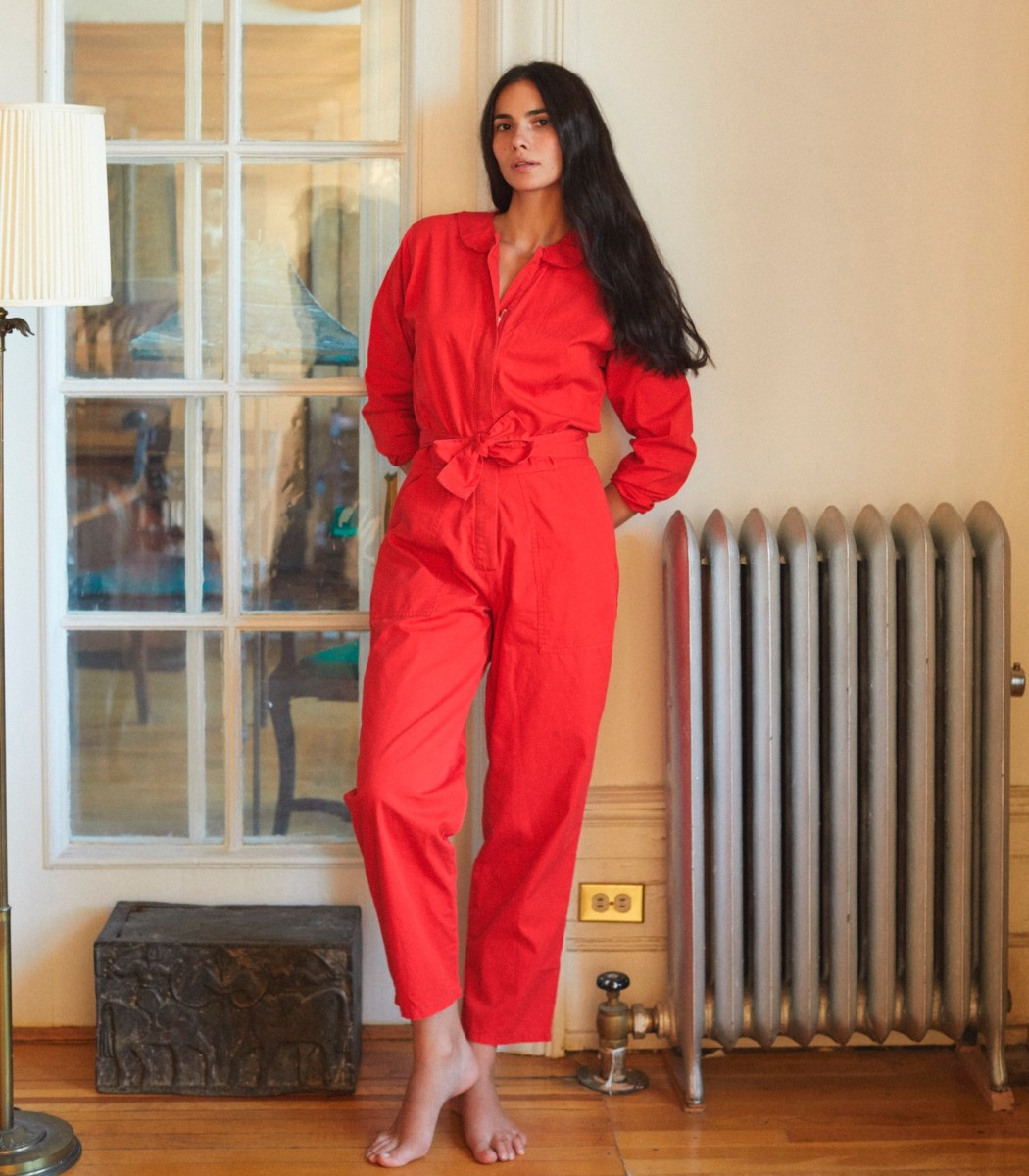 Loup Red Gilda Jumpsuit, $193, available here.