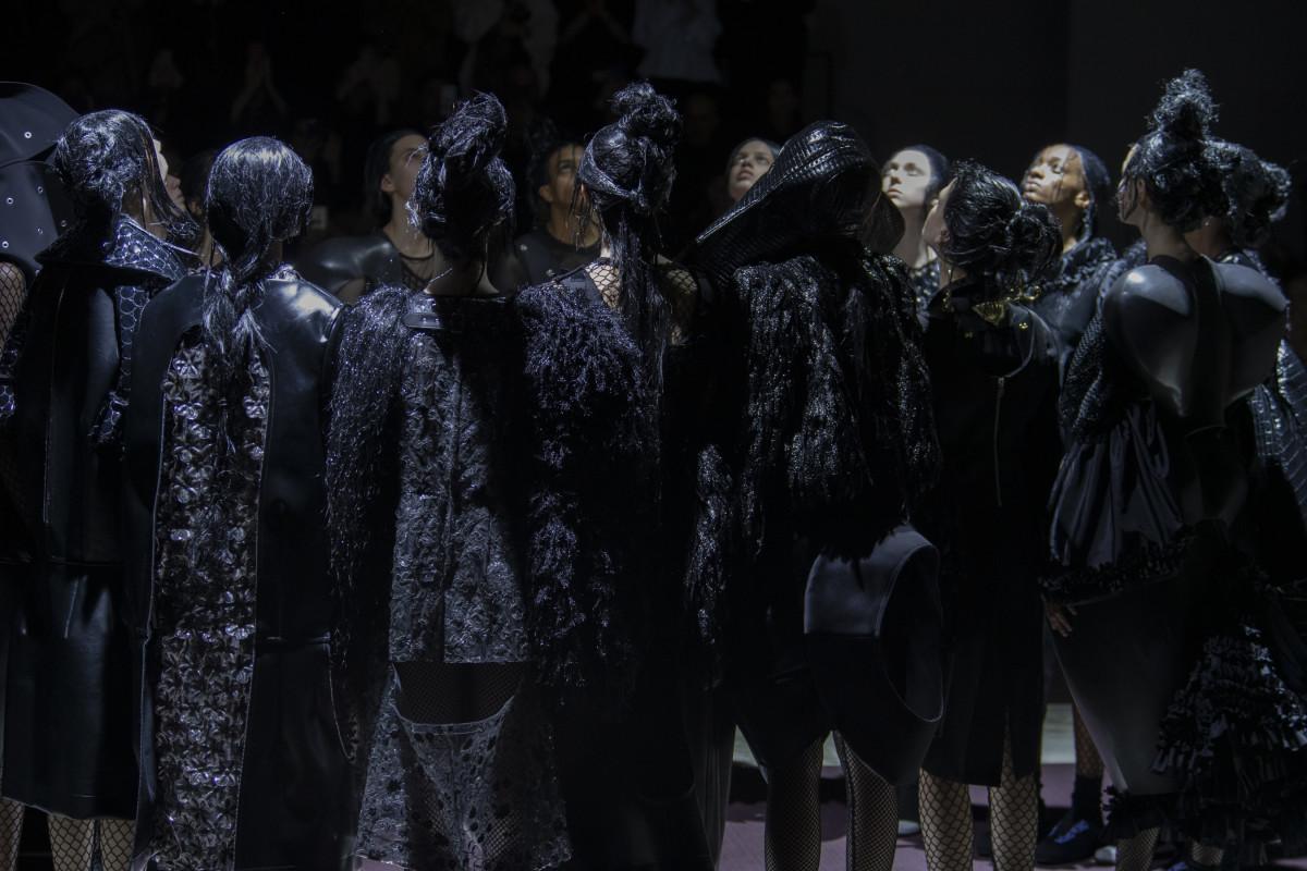 Comme des Garçons Fall 2019. Photo: Imaxtree