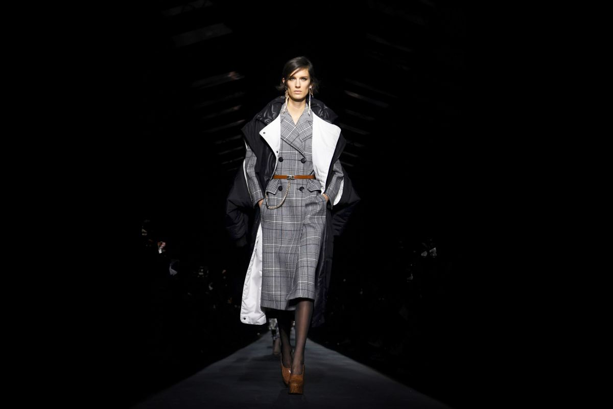 A look from the Givenchy Fall 2019 collection. Photo: Christophe Archambault/AFP/Getty Images