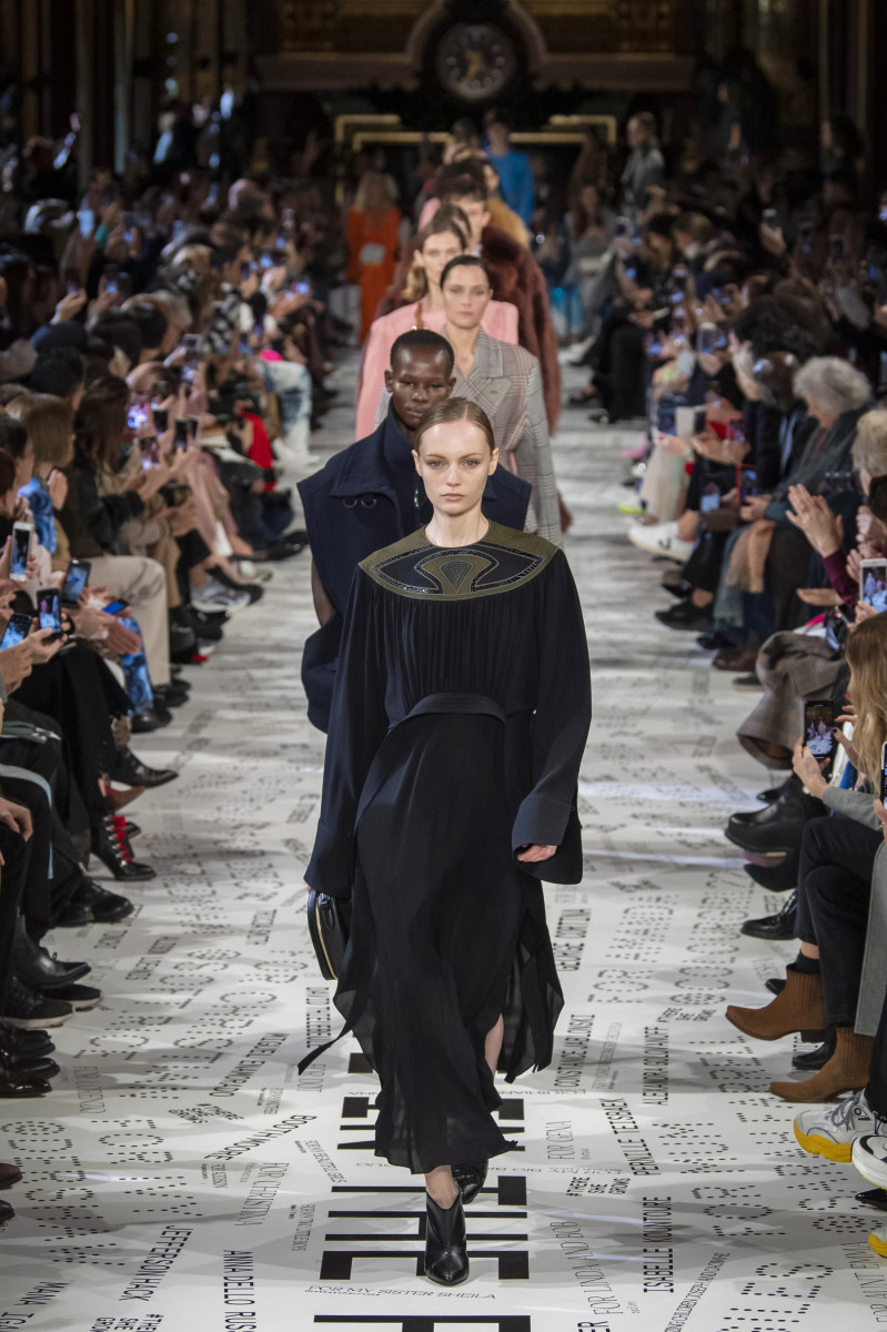 Looks from the Stella McCartney Fall 2019 collection. Photo: Imaxtree