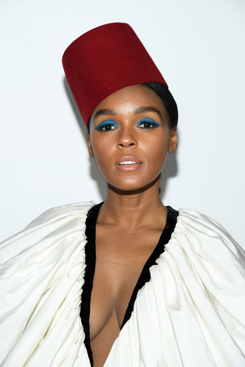 Janelle Monáe at the Giambattista Valli Fall 2019 show in Paris. Photo: Pascal Le Segretain/Getty Images