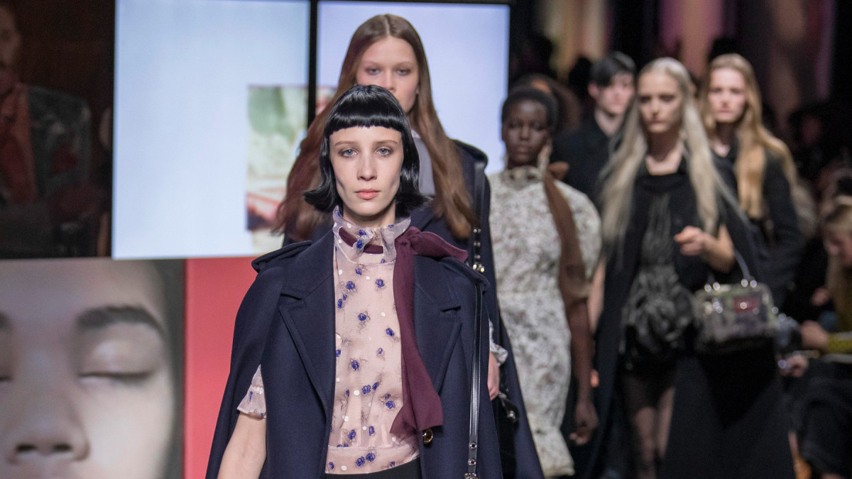ad8e3c2d706 See Every Look From Miu Miu s Fall 2019 Collection - Fashionista