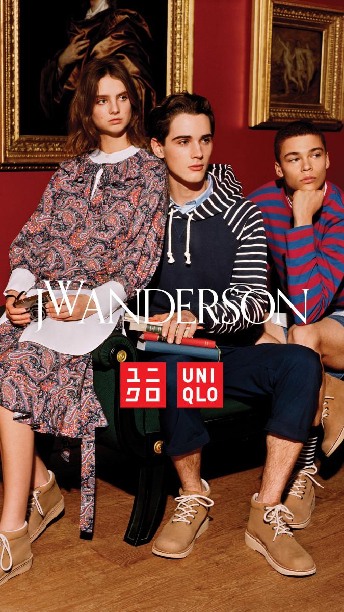JW Anderson x Uniqlo Spring 2019 Campaign. Photo: Courtesy of Uniqlo