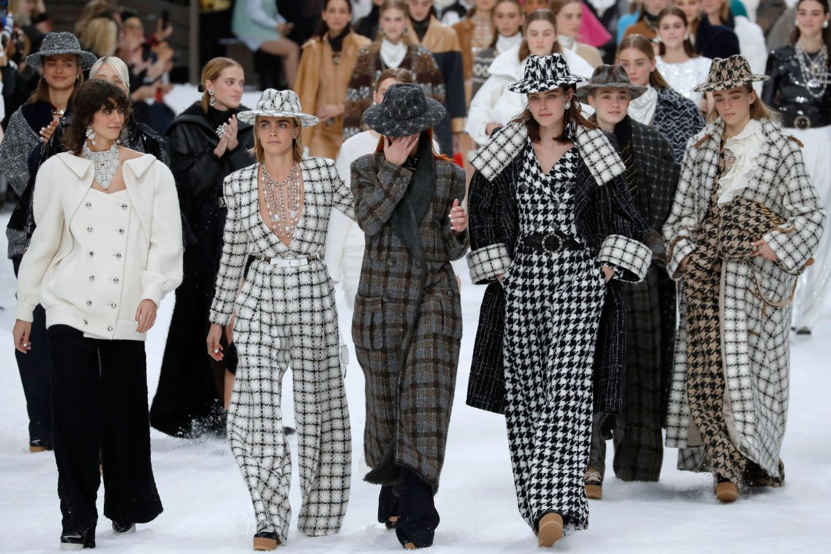 The Chanel Fall 2019 finale. Photo: FRANCOIS GUILLOT/AFP/Getty Images