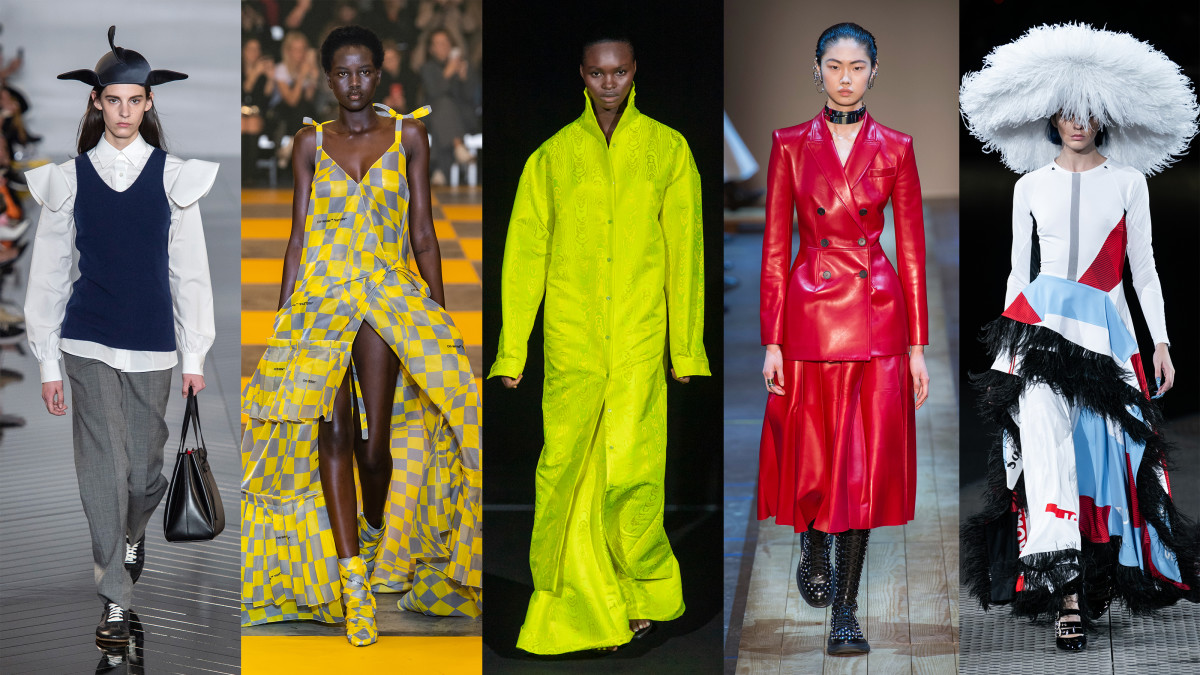 7 Top Trends From The Paris Fall 2019 Runways Fashionista