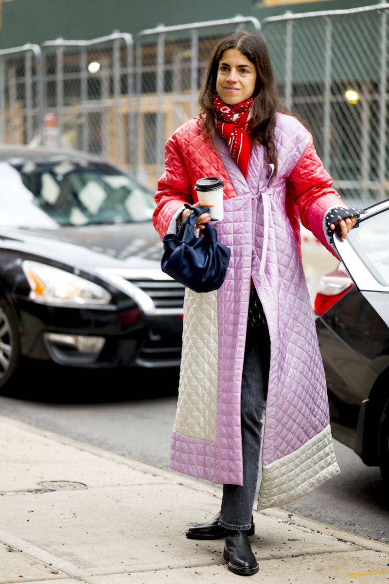 Leandra Medine at New York Fashion Week. Photo: Imaxtree