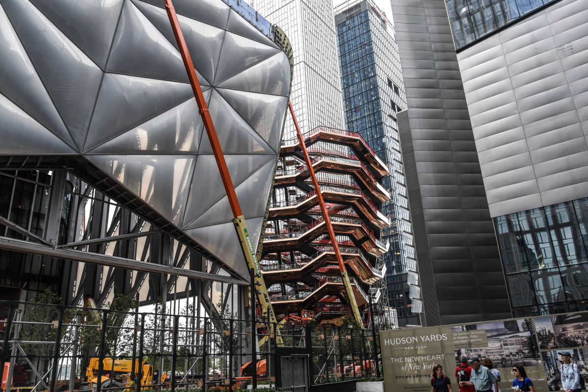Hudson Yards. Photo by Stephanie Keith/Getty Images