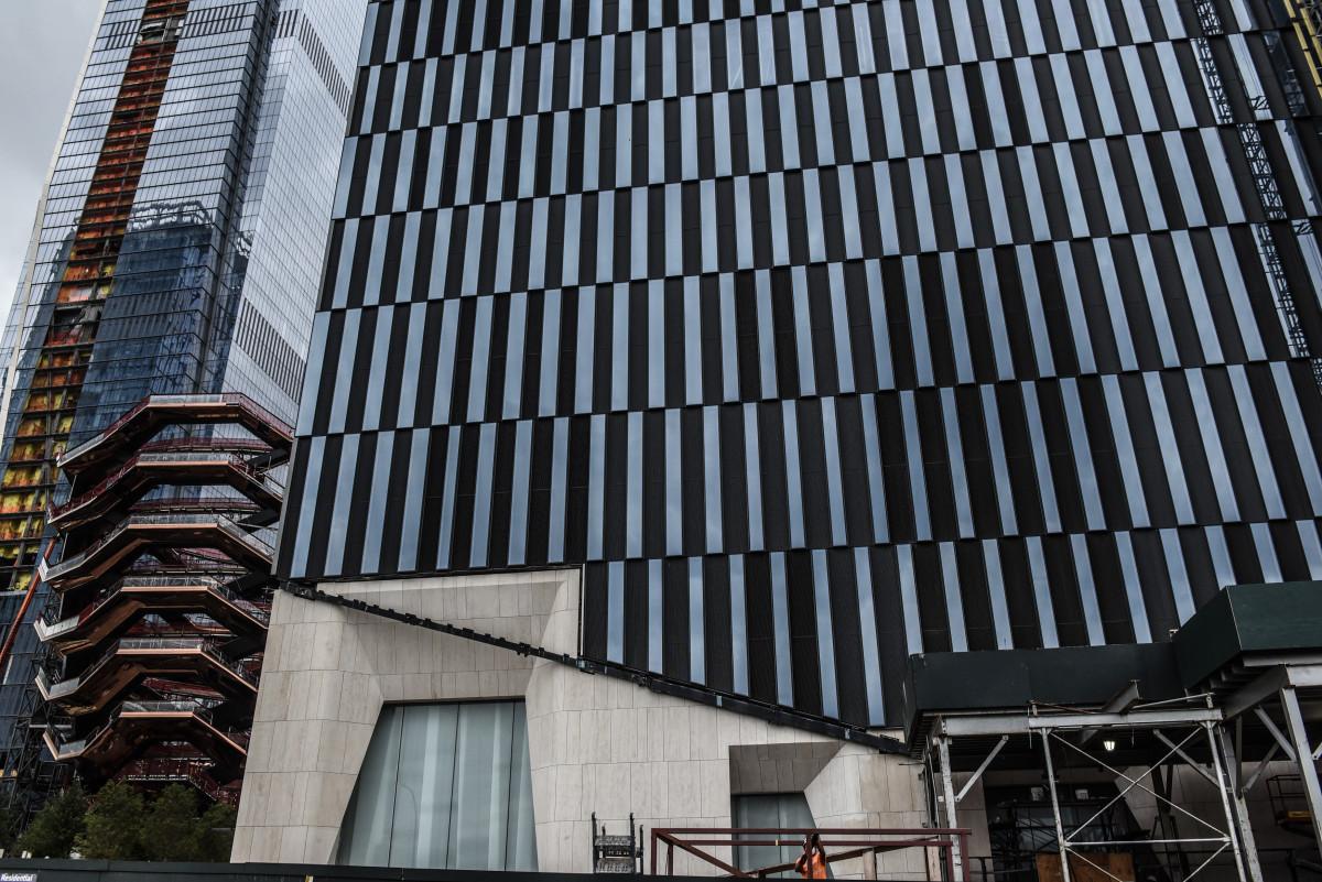 Hudson Yards under development. Photo: Stephanie Keith/Getty Images